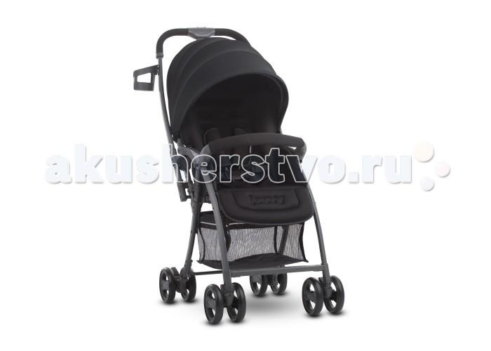 Прогулочная коляска Joovy BalloonBalloonПрогулочная коляска Balloon JOOVY практична в своем роде, имеет легкий вес, перекидную ручку и регулируемую подножку. Угол наклона спинки регулруется до положения лежа, что позволяет использовать коляску с самого рождения (с 0 месяцев) и идеально подходит для сна во время прогулки. Рассчитана на вес ребенка до 20 кг.  Универсальный адаптер под автокресло, который идет в комплекте позволяет устанавливать любое автокресло. Большой капор с защитой от ультрофиолета (SPF +50) защитит Вашего ребенка в солнечный день. Кроме всего, коляска очень компакта и ее легко положить в багажник автомобиля или использовать в общественном транспорте, за счет простоты сложения.   Особенности: Легкий вес коляски 5,8 кг перекидная ручка, откидной бампер угол наклона спинки регулируется до положения лежа регулируемая подножка пятиточечный ремень безопасности с мягкими плечиками большой капор с защитой от ультрафиолета поворотные колеса для лучшей маневренности компактное складывание стоит в сложенном виде.  В комплекте: съемный бампер, универсальный адаптер под автокресло, 2 подстаканника<br>