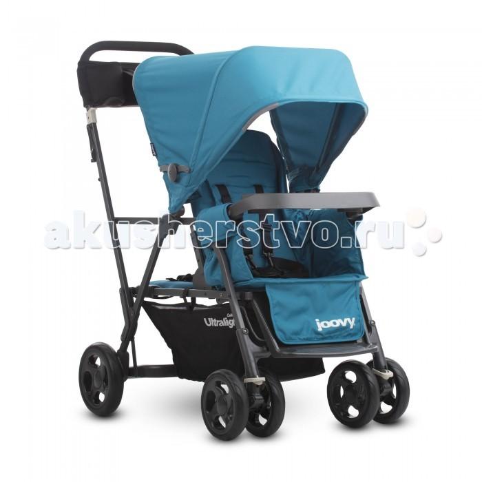 коляски для двойни и погодок Коляски для двойни и погодок Joovy Коляска для погодок Caboose Ultralight