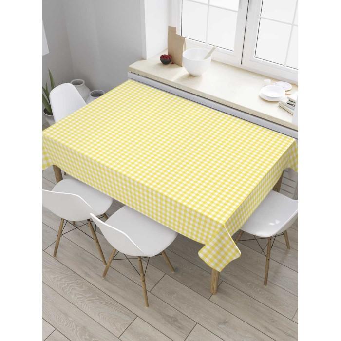 Товары для праздника JoyArty Скатерть на кухонный стол Клетка 145x120 см недорого
