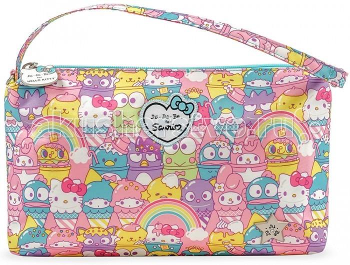 Сумки для мамы Ju-Ju-Be Сумка для мамы Be Quick Hello Kitty сумка для мамы ju ju be hobobe hello kitty hello perky 14hb01hk 4767