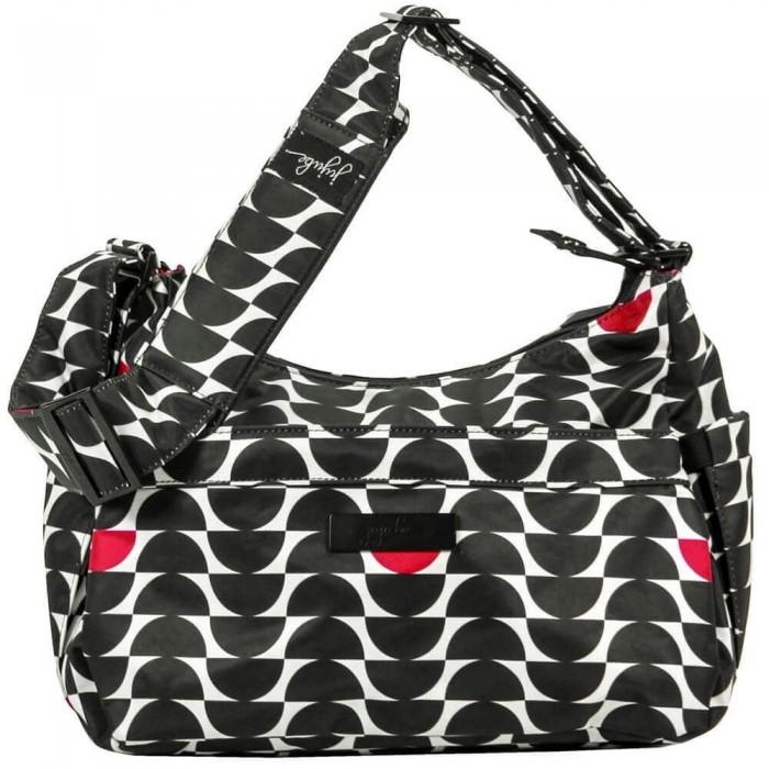 Сумки для мамы Ju-Ju-Be Сумка для мамы HoboBe Onyx сумка для мамы ju ju be hobobe pink pinwheels 12hb01a 8737
