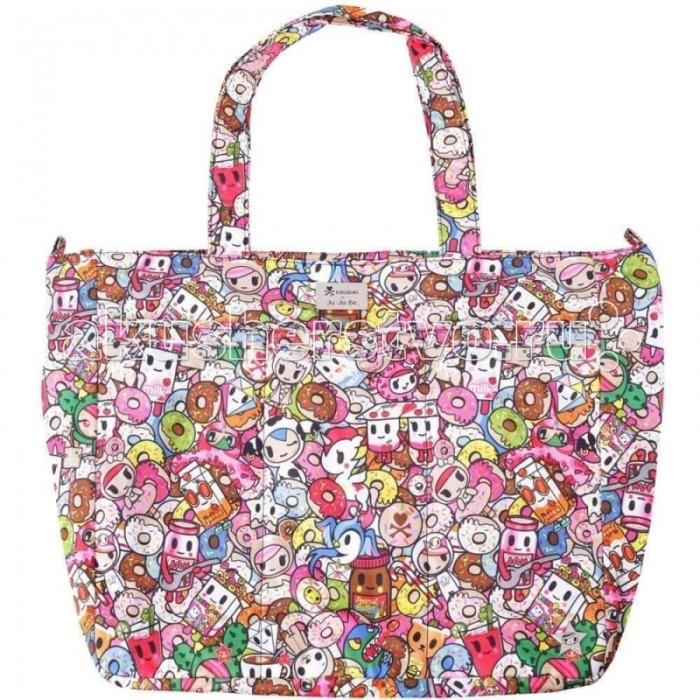 Сумки для мамы Ju-Ju-Be Сумка для мамы Super Be Tokidoki сумка для мамы ju ju be hobobe pink pinwheels 12hb01a 8737