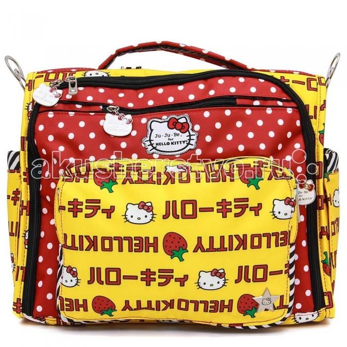 Сумки для мамы Ju-Ju-Be Сумка-рюкзак для мамы B.F.F. Hello Kitty ju ju be сумка для мамы belight black out