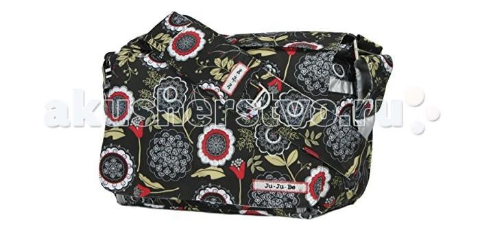 Ju-Ju-Be Сумка для мамы Be AllСумка для мамы Be AllСтильная и практичная умная сумка среднего размера американского бренда Ju-Ju-Be. Подходит не только для коляски, мамы с удовольствием берут её с собой в дорогу, на прогулку, в походы по магазинам. Современная сумка с множеством карманов и отделений. В Вашей сумке всегда будет порядок! Функциональные особенности сумки Ju-Ju-Be Be All:  Карман для ключей, соски, очков, документов и косметички  Кармашек для фотографий малыша  Основное отделение с 6 сетчатыми карманами и карманом на молнии.  Отдельный боковой карман с ковриком для пеленания, сюда также можно положить печенье, не беспокоясь о крошках: они выпадут через специальные мини отверстия по бокам  Два внешних термокармана для бутылочек. Технология 3M Thinsulate позволяет длительно сохранять температуру детского питания и напитков.  Мягкий, удобный коврик для пеленания, очень нравится детям (не холодный)  Бесшумные магниты, вместо липучек и кнопок  Удобный регулируемый ремень, со специальной накладкой, принимающий форму плеча. Не нужно постоянно поправлять сумку и волноваться, что она спадет в самый неподходящий момент  Антимикробное покрытие подкладки, грязеотталкивающая пропитка внешней ткани  Светлая, яркая атласная подкладка, чтобы вы могли найти вещи легко и быстро  Сумка для мамы крепится на коляску. (Удобное, надежное и безопасное крепление к коляске, позволяет быстро одеть и снять сумку с коляски. Клипсы-крепления к коляске продаются отдельно) Материал: тефлон Размер: 35,5 x 28 x 14 см (как у стандартных сумок для коляски, например Peg-Perego)<br>