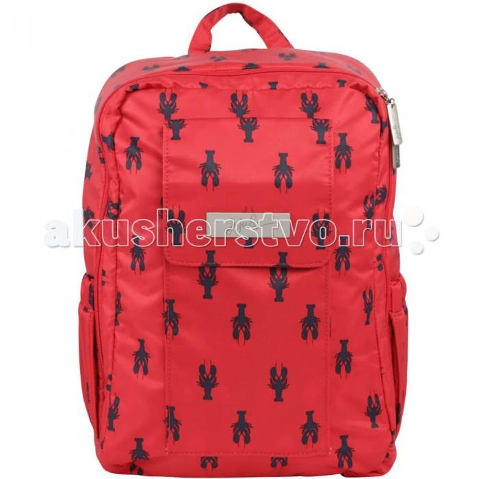Ju-Ju-Be Рюкзак для мамы Mini BeРюкзак для мамы Mini BeОблегченный рюкзак для мамы и малыша Ju-Ju-Be Mini Be («Жу Жу Би Мини Би»)  Идеальный вариант для прогулок с активным малышом, освобождает мамины руки.  Рюкзачок Мини Би также понравится и деткам, которые с удовольствием будут носить в нем свои вещи и брать в путешествия. Помещается лист формата А4, ipad.   Спинка выполнена с использованием специально расположенных ортопедических элементов с воздухообменной сеткой – для правильного и безопасного распределения нагрузки на спину, а для того, чтобы подчеркнуть особый стиль, пристрочены фирменные надписи Ju-Ju-Be.  В рюкзаке Mini Be имеются: эргономичные, изогнутые, мягкие плечевые лямки; легко захватываемая ручка, в случае если вам понадобится нести рюкзак в руке; большое основное отделение с удлиненными молниями по бокам, позволяющими открыть рюкзак до основания, вам больше не придется копаться в рюкзаке в поисках необходимой вещи; в основном отделении находится карман на молнии. который можно использовать как картман для мокрых вещей внешнее отделение на кнопке  верхний слой ткани с покрытием Teflon®, обеспечивающим защиту от пятен; антимикробная подкладка AgION®, с ионами серебра; металлические молнии и застежки – мы не доверяем никаким вещам из дешевого пластика; светлая подкладка – вы можете легко видеть, что находится внутри.  Рюкзак можно стирать в стиральной машине на режиме деликатная стирка (не сушите в стиральной машине!).  Размеры: 23 х 33 (ширина*высота) глубина в закрытом виде 6 см. . Вес: 250 гр.<br>