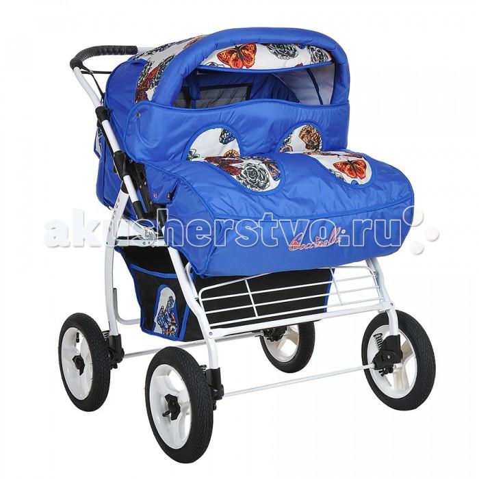 Детские коляски , Коляски для двойни и погодок Kacper Коляска-трансформер для двойни Duetto P арт: 70424 -  Коляски для двойни и погодок