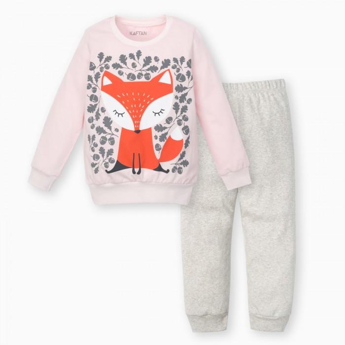 Купить Комплекты детской одежды, Kaftan Костюм для девочки (джемпер, брюки) Лисичка
