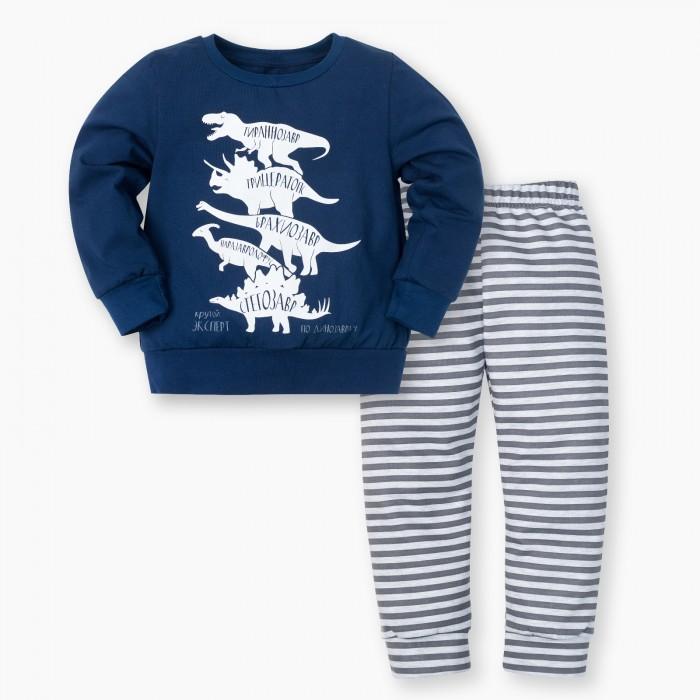 Купить Комплекты детской одежды, Kaftan Костюм для мальчика (джемпер, брюки) Динозавры