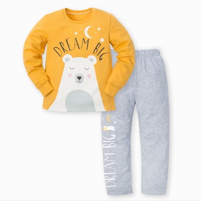 Kaftan Пижама для мальчика (брюки, джемпер) Медвежонок