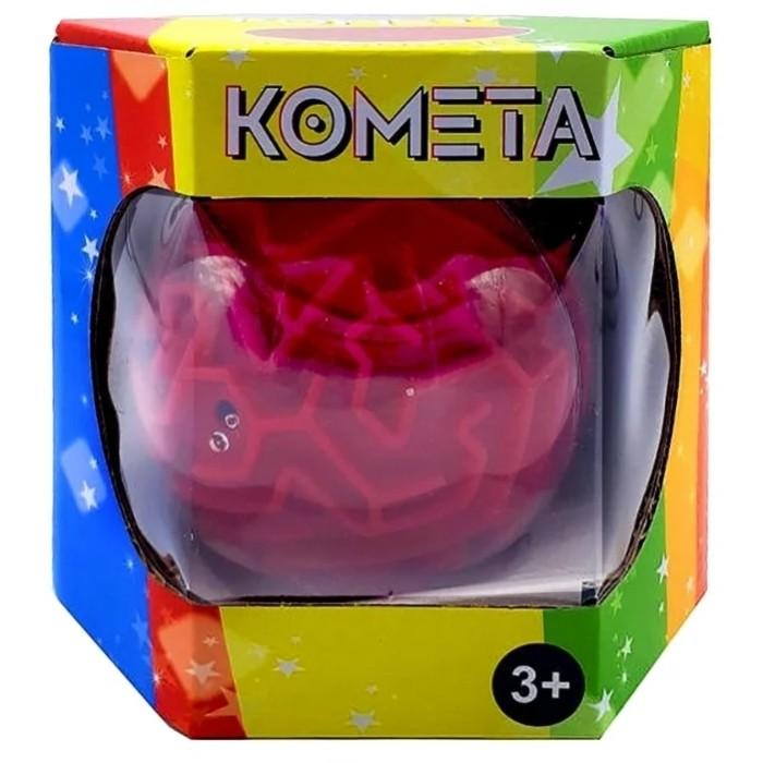Настольные игры Kakadu Комета-лабиринт уровень лёгкий настольные игры kakadu шар лабиринт 168 ходов 22 см