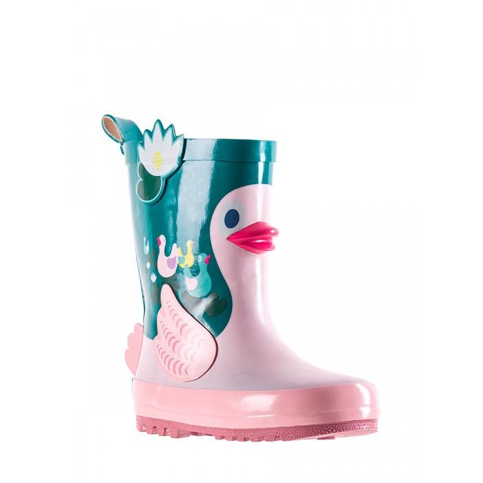 дутики и сноубутсы kakadu сапоги для девочки 7935a Резиновая обувь Kakadu Резиновые сапоги для девочки 8948A
