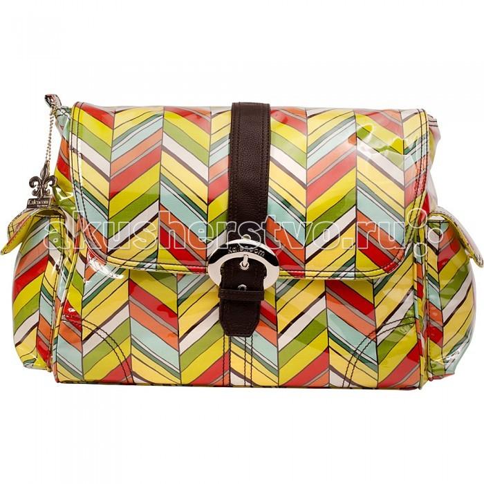 Kalencom Cумка для мамы Laminated Buckle Bag