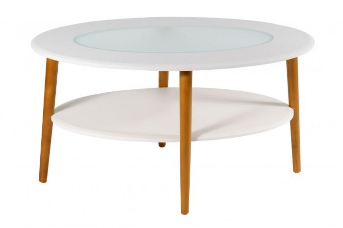 Детские столы и стулья Калифорния мебель Стол журнальный Эль со стеклом СЖС-01