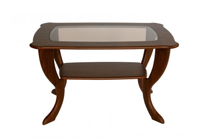 Картинка для Калифорния мебель Стол журнальный Маэстро со стеклом СЖС-01
