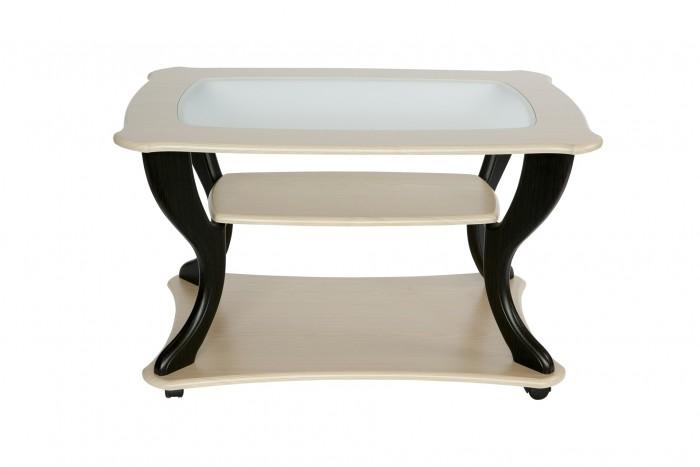 Детские столы и стулья Калифорния мебель Стол журнальный Маэстро со стеклом СЖС-02