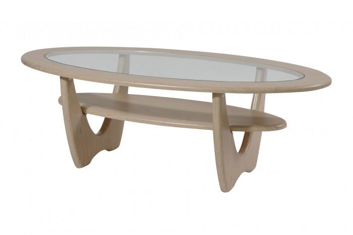 Детские столы и стулья Калифорния мебель Стол журнальный Юпитер со стеклом