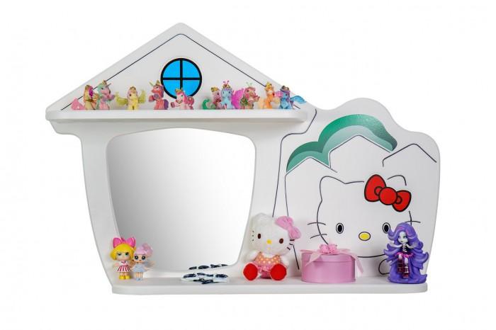 Купить Аксессуары для детской комнаты, Калифорния Полка Домик Кити