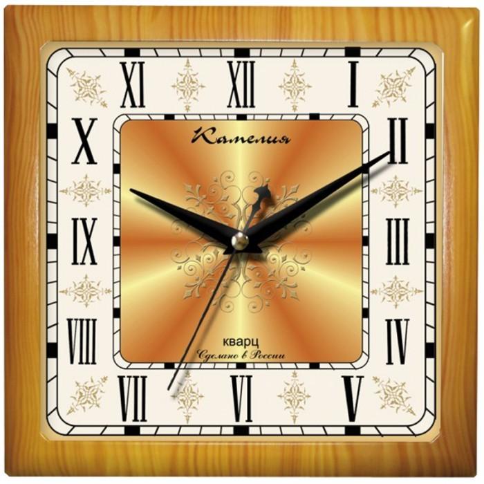 Часы Камелия настенные квадратные Римские новые 2