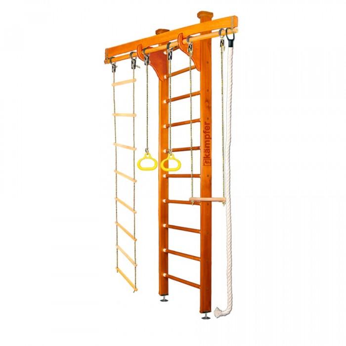 Шведские стенки Kampfer Домашний спортивный комплекс Wooden Ladder Ceiling (стандарт) домашний спортивный комплекс kampfer classic wall