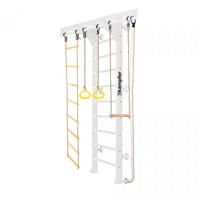 Картинка для Kampfer Шведская стенка Wooden Ladder Wall Стандарт