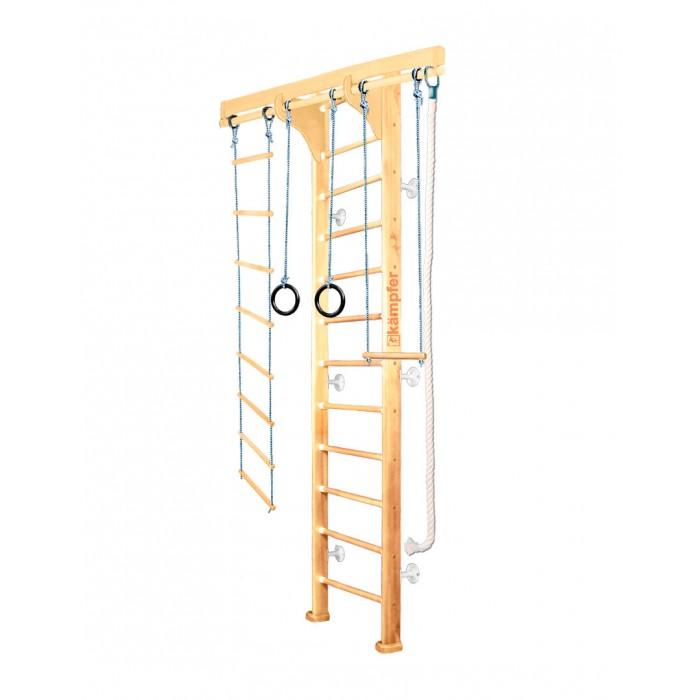 Шведские стенки Kampfer Домашний спортивный комплекс Wooden Ladder Wall Стандарт, Шведские стенки - артикул:534666