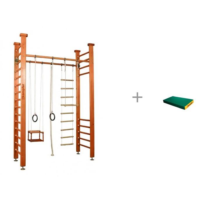 Купить Шведские стенки, Kampfer Шведская стенка Child Forest Стандарт и мат №1 (100х50х10)