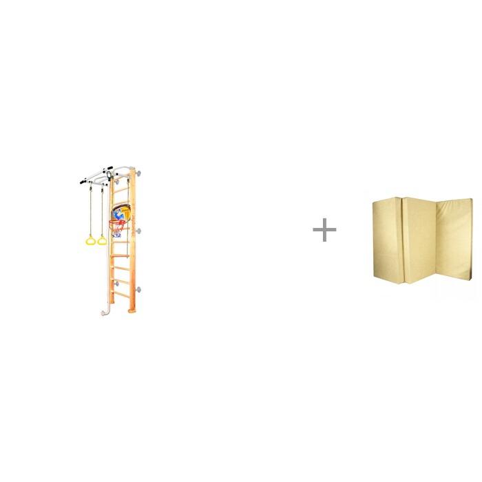 Купить Шведские стенки, Kampfer Шведская стенка Helena Wall Basketball Shield Стандарт и мат №6 складной 150х100х10 см ILGC-group