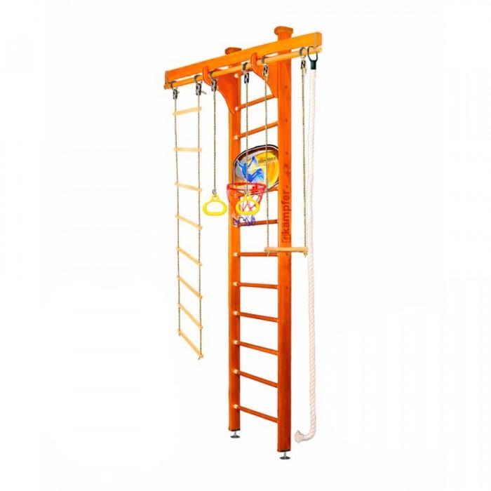 Купить Шведские стенки, Kampfer Шведская стенка Wooden Ladder Ceiling Basketball Shield 3 м