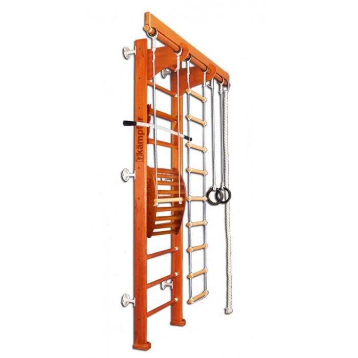 Шведские стенки Kampfer Домашний спортивный комплекс Wooden ladder Maxi Wall Стандарт домашний спортивный комплекс kampfer classic wall