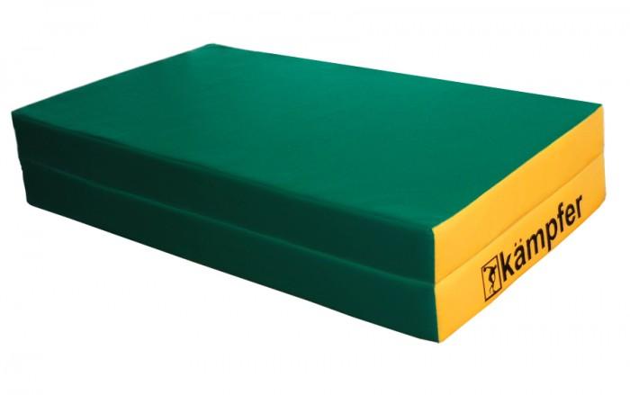 Kampfer Мат №4 (100х100х10) складнойМат №4 (100х100х10) складнойKampfer Мат №4 (100х100х10) складной обеспечивает дополнительную безопасность детей во время занятий!   Особенности: Износостойкое покрытие защищает и надолго сохраняет презентабельный вид мата Kampfer, обеспечивая максимальную защиту наполнителя и увеличивая срок службы. Применение современных материалов позволяет надолго сохранить насыщенность цвета.  Мат Kampfer, совершенно безопасен для детей, изготовлен из экологически чистых материалов, не причиняющих вреда здоровью. Не имеет посторонних запахов, обладает антибактериальным и гипоаллергенным эффектом.  Прекрасно экономит свободное место! Складная конструкция позволяет максимально сократить размеры мата, что облегчает его перевозку и хранение. Яркий дизайн несомненно подойдет к любой обстановке и станет украшением любой детской комнаты. Современный дизайн и качественное исполнение Надежность и долговечность Широкий модельный ряд конструктивного исполнения.  Легкая транспортировка и хранение!  Преимущества материалов изготовления матов Kampfer: Экологически чистые и гипоаллергенные! Устойчивы к разрыву!  Допускаются многократные изгибания! Устойчивы к истиранию! Легко моются и чистятся.  Материалы изготовления: Покрытие: винилискожа  Наполнитель: поролон  Габариты мата: Длина: 1 м Ширина: 1 м Толщина: 10 см<br>