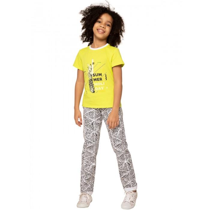 Купить Футболки и топы, Карамелли Блузка для девочки Сафари О54289
