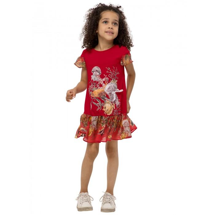 Карамелли Платье для девочки Друзья Немо О54737 фото