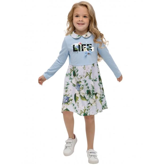Платья и сарафаны Карамелли Платье для девочки Весенний букет О54526 детские платья и сарафаны playtoday платье для девочки летний букет 982002