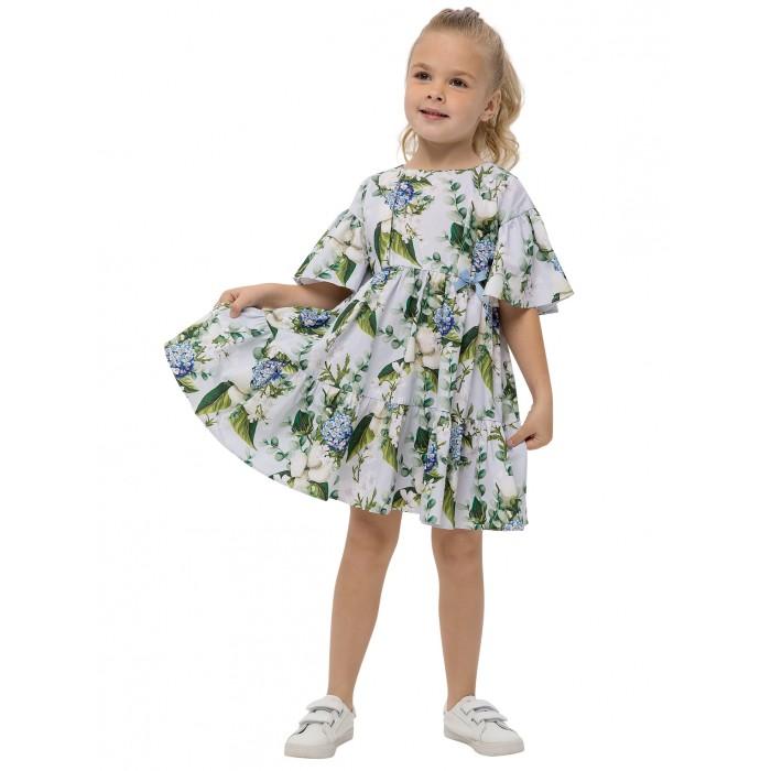 Платья и сарафаны Карамелли Платье для девочки Весенний букет детские платья и сарафаны playtoday платье для девочки летний букет 982002