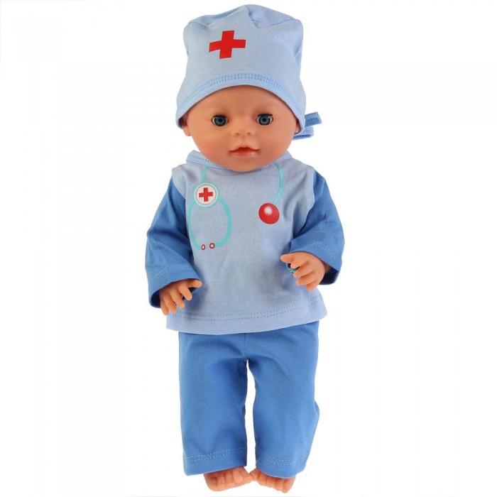 куклы и одежда для кукол Куклы и одежда для кукол Карапуз Одежда для кукол костюм доктора 40-42 см