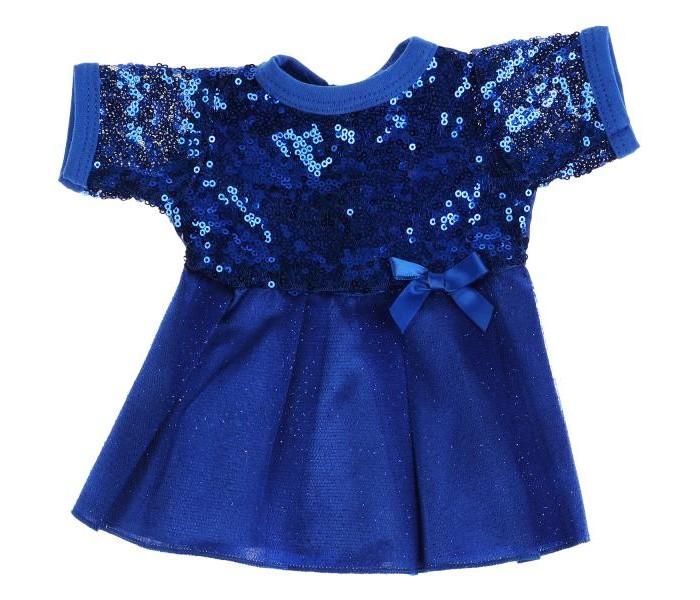 Куклы и одежда для кукол Карапуз Одежда для кукол Платье с пайетками 40-42 см OTF-2103D-RU