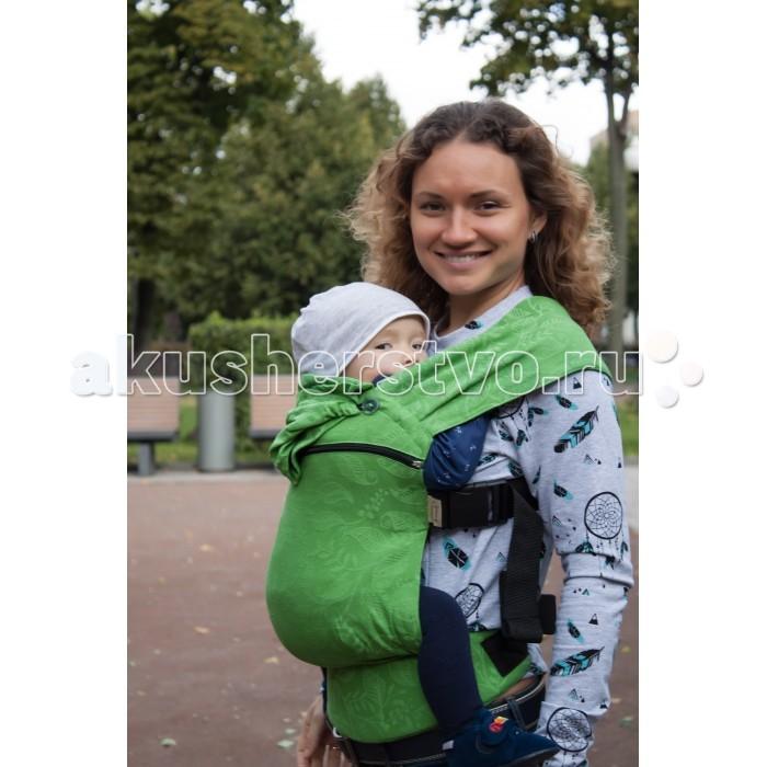 Товары для мамы , Рюкзаки-кенгуру Karaush Слингк Leaves (растущий бэби) арт: 487786 -  Рюкзаки-кенгуру