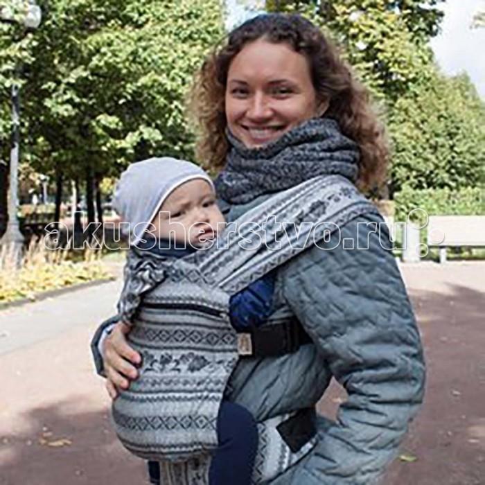 Рюкзак-кенгуру Karaush Слинг Adel (растущий бэби)Слинг Adel (растущий бэби)Karaush Слинг-рюкзак Adel (растущий бэби) подходит малышам от 4-6 месяцев ростом от 62 см до 2 лет.   Эргорюкзак с растущей спинкой может расти вместе с малышом. Это удобно, если вы планируете носить ребенка до возраста уверенного бегунка и вам сложно предсказать, как он будет расти.   Cоздан в соответствии с  рекомендациями Лиги слингоконсультантов. Ребенок в эргорюкзаке находится в физиологичной М-позиции. Три положения лицом к родителю: впереди, на бедре и за спиной.   Все эргорюкзаки изготовлены из той же ткани, что используется для производства слинг-шарфов. Слинговая ткань жаккардового плетения обеспечивает оптимальное распределение веса, поддержку позвоночнику малыша, как в слинг-шарфе. Благодаря бамбуку в составе, в эргорюкзаках не жарко при ношении под верхней одеждой зимой.   Благодаря плоским лямкам эргорюкзаки удобно носить в холодное время года как под одежду. Любителям носить детей поверх одежды зимой понравится растущая спинка: в расстегнутом виде она компенсирует объем верхней одежды малыша.   Размеры спинки модели Растущий Бэби: в сложенном виде 35х35 см  в разложенном виде 35х43 см В комплекте идет:  сумочка инструкция соединительная стропа<br>