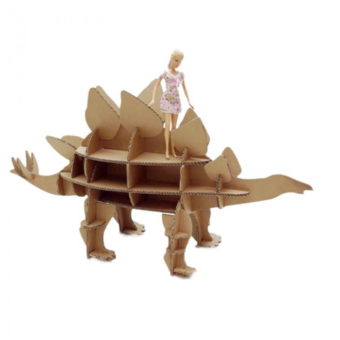 Конструкторы Картонный папа Набор игровой из картона Домашний динозавр: Стегозавр