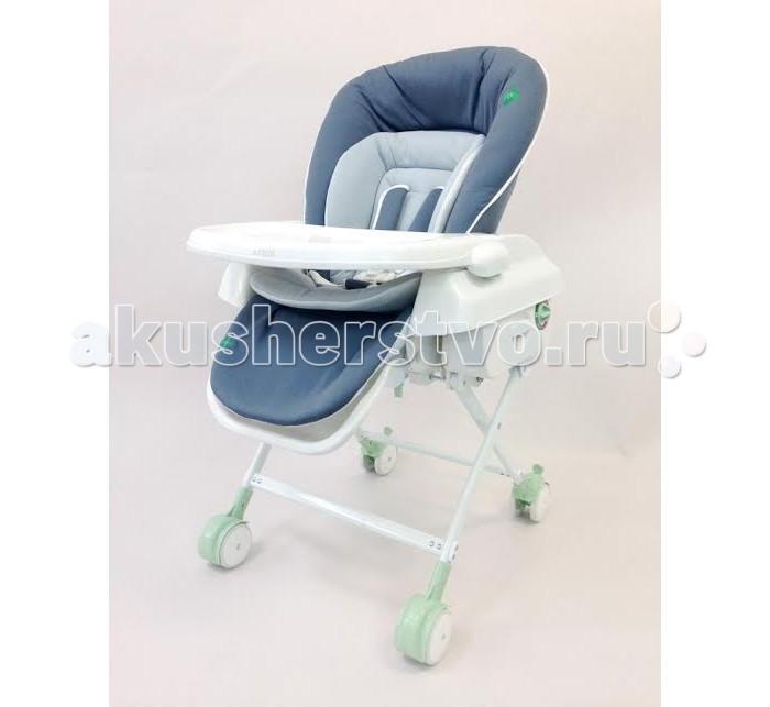 Колыбель Katoji стульчик 3 в 1стульчик 3 в 1Колыбель Katoji стульчик 3 в 1  Колыбель-стульчик Katoj для малышей в возрасте от рождения до 4-х лет.  Особенности: может быть использована для детей с рождения до 4 лет (до 18 кг) угол наклона спинки: 3 положения (120-140-165 градусов) механическое укачивание колыбели раскладывание колыбели в горизонтальное положение для сна и отдыха мягкая защита головы и тела ребенка из органического хлопка 85% и 15% конопли, что обеспечивает комфортное нахождение в колыбели регулировка высоты колыбели (4 уровня высоты) - высота сиденья: 54 см, 49 см, 45 см и 22 см  5-ти точечный ремень безопасности многофункциональное использование: первые месяцы – колыбель, от 6 месяцев - стульчик со столиком для кормления, до 4 лет - высокий стульчик съемный столик с высокими бортиками, из антибактериального материала удобно в использовании съемная ткань колыбели (используются только натуральные ткани) - стирка при 40 градусов размер колеса 9 см, ширина  6 см конструкция колыбели обеспечивает ее устойчивость удобна в обращении, мобильна, легко складывается и раскладывается  Размеры колыбели: ширина 56 x глубина 88 x высота 70&#12316;100 см Масса колыбели: 10.1 кг<br>