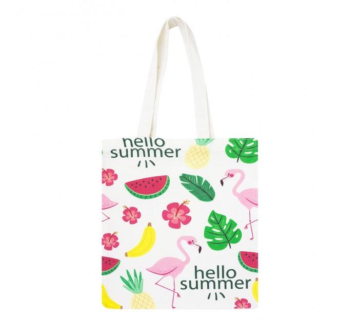 Сумки для мамы Kawaii Factory Эко-сумка шоппер с принтом Hello Summer
