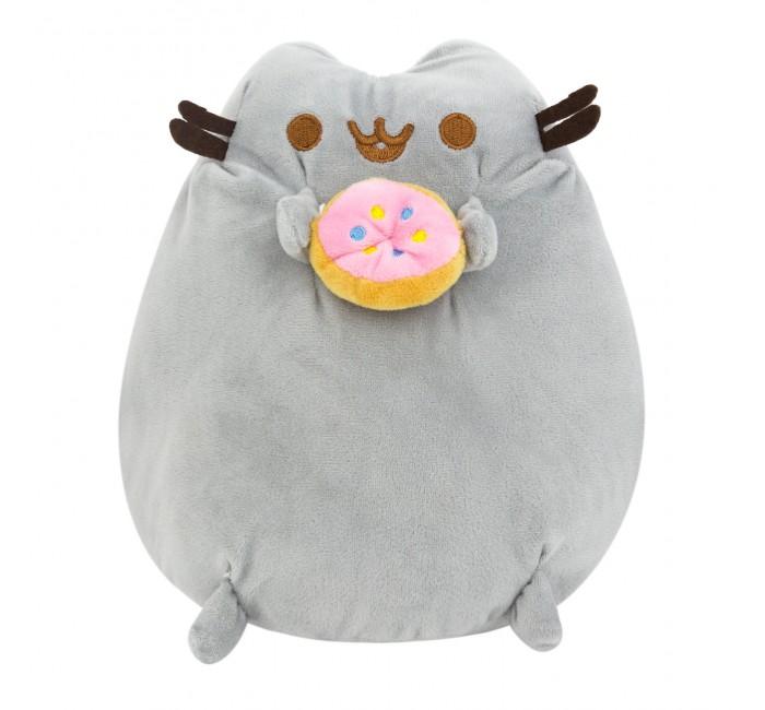 Подушки для малыша Kawaii Factory Игрушка-подушка Кот с пончиком 24 см