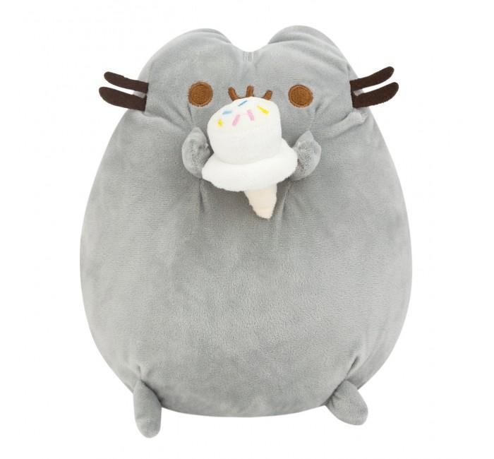 Подушки для малыша Kawaii Factory Игрушка-подушка Кот с рожком 24 см