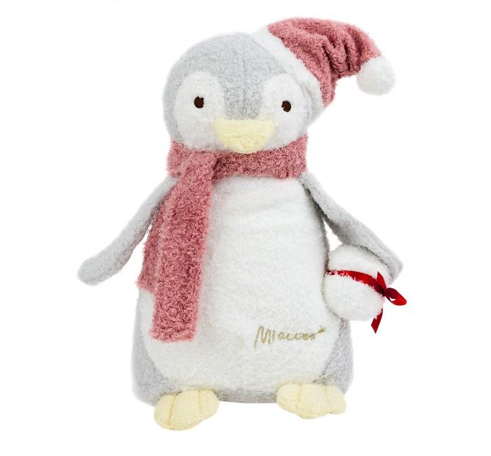 Мягкая игрушка Kawaii Factory Игрушка-подушка Пингвин Санта 33 см
