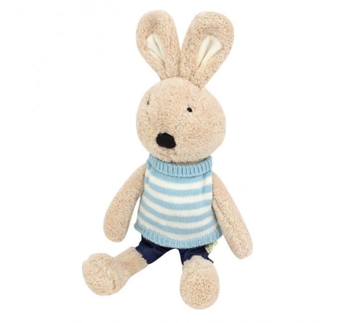 Подушки для малыша Kawaii Factory Игрушка-подушка Зайка в голубом свитере 45 см