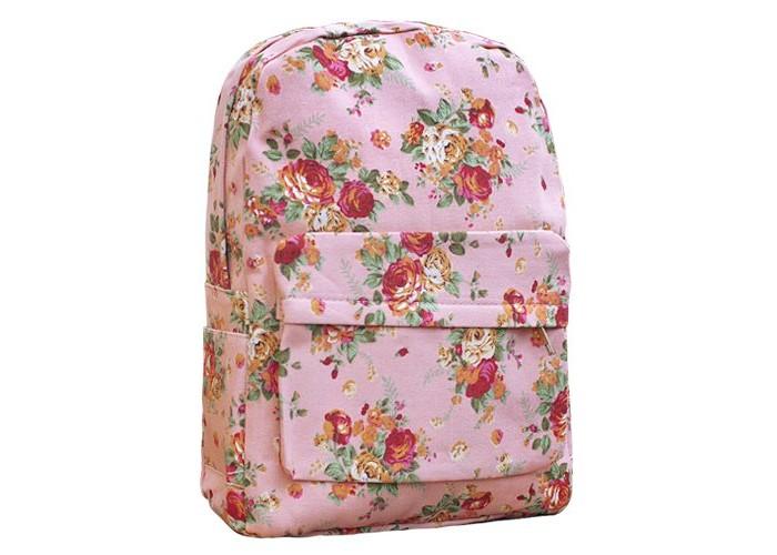 Купить Школьные рюкзаки, Kawaii Factory Рюкзак с цветочным принтом Flower Bouquets