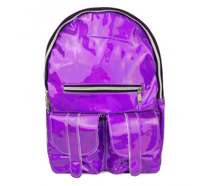 Купить Школьные рюкзаки, Kawaii Factory Рюкзак с карманами Металлик
