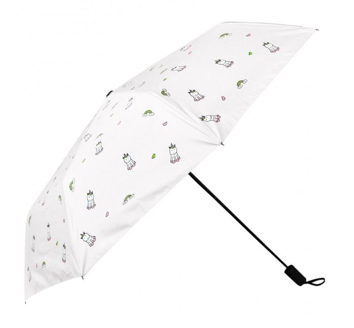 Зонты Kawaii Factory складной Единорожки