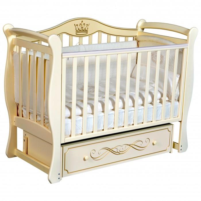Детская кроватка Кедр Grace 1 универсальный маятник фото
