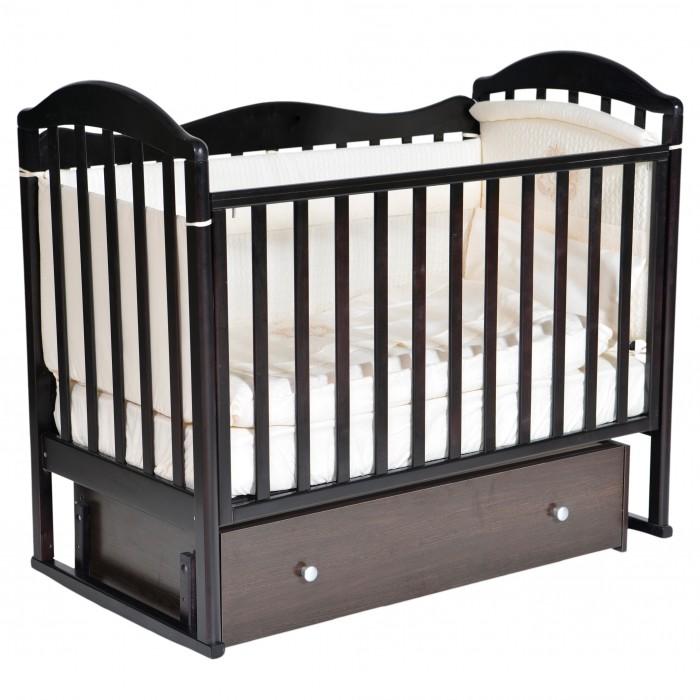 Детская кроватка Кедр Emily 1 (универсальный маятник) фото